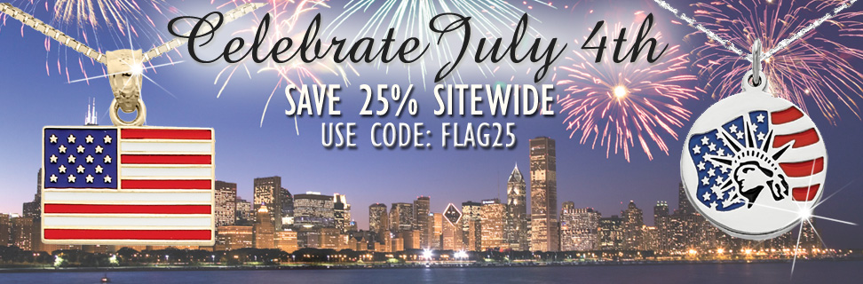 July Fourth Celebration 25% OFF Sitewide