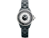 Ladies Chisel Black Ceramic Watch 3 ATM Water Resistant
