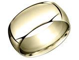 Men's 14K Yellow Gold Wedding Band 10mm