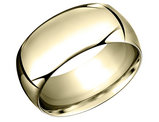 Men's 14K Yellow Gold Wedding Band 10mm
