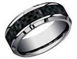Men's 7mm Comfort Fit Tungsten Wedding Band