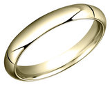 Men's 5mm Comfort Fit Wedding Band in 14K Yellow Gold