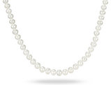 Endless Freshwater Cultured White Potato Pearl 6.5-7mm Necklace (36 inch)