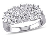 1/2 Carat (ctw H-I, I2-I3) Diamond Cocktail Ring in Sterling Silver