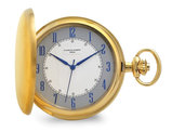 Charles Hubert Satin IP-plated Stainless Pocket Watch (50mm)