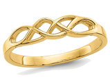 Free Form Knot Ring in 14K Yellow Gold
